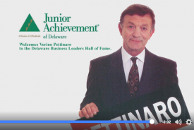 VIDEO: Verino Pettinaro Inducted into the Delaware Business Leaders Hall of Fame