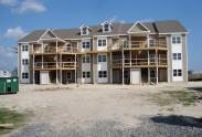 An image of the Bethany Bay Resort Community & Golf Club during construction.