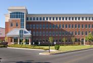 Another view of the Red Brick Building from the parking lot