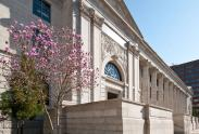 Outside of the renovated Daniel L. Hermann Courthouse (2011) (2)